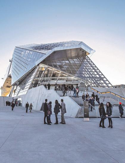 Musee des Confluences A Lyon